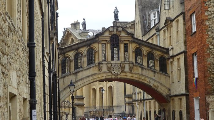 Harry Potter Brücke Drehort Oxford
